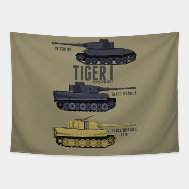 Tiger I Tigers T-Shirt