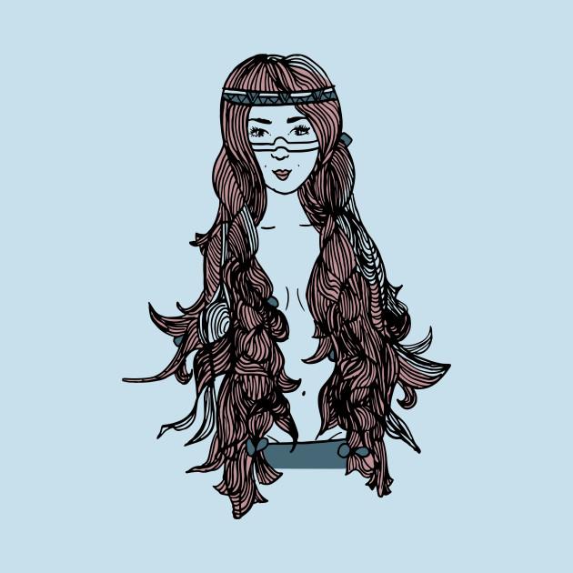 Princess with Long hair