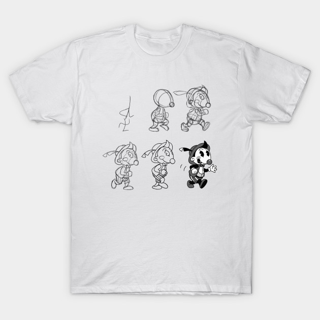 167111ad6 Cartoon Character Step by Step - Animation - T-Shirt | TeePublic