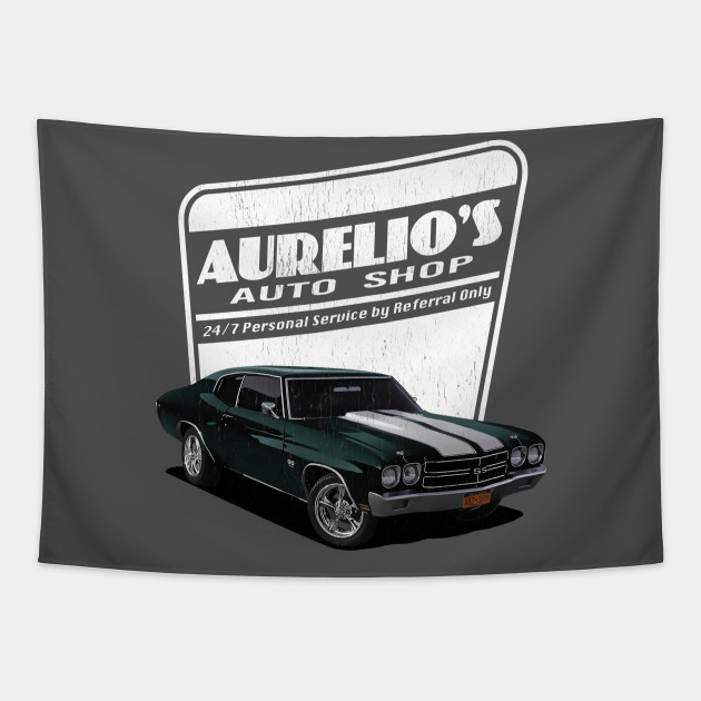 Aurelio's Auto Shop - John Wick