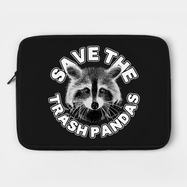 Save the Trash Pandas Raccoon Animal T-shirt