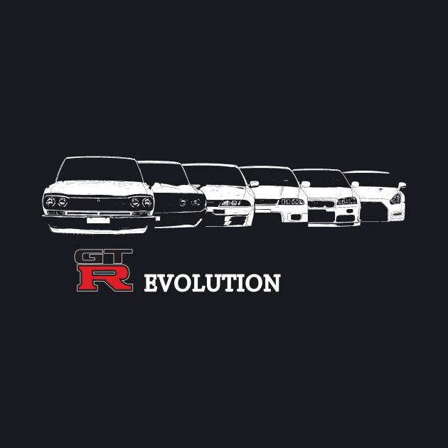 nissan gtr evolution