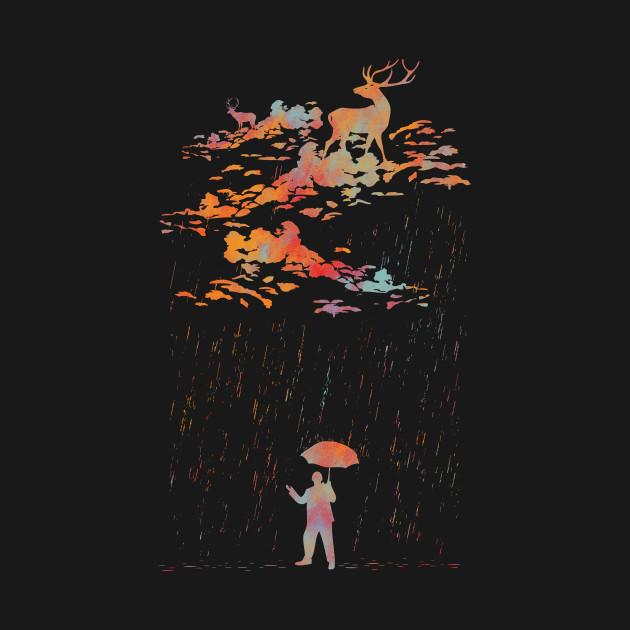 It rain,My deer