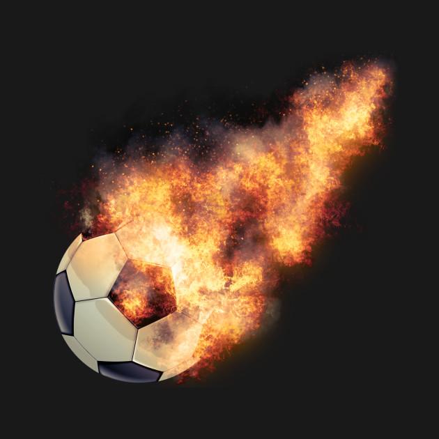 Flaming Soccerball