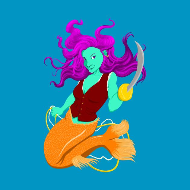 Anne the Pirate Mermaid