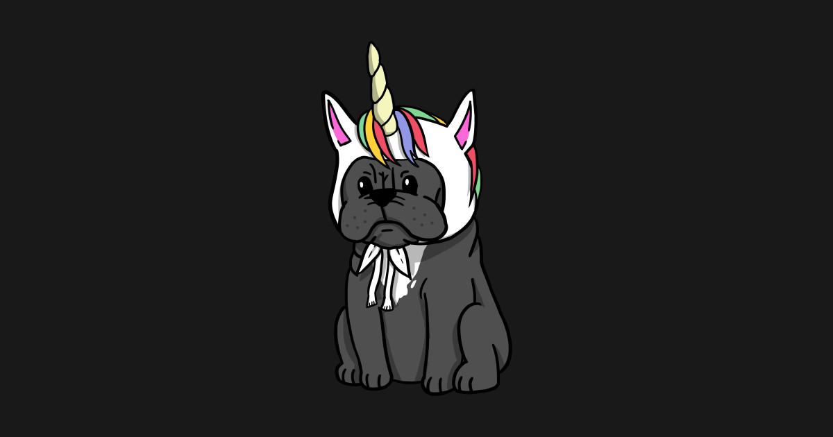 e999ec308 Funny Unicorn French Bulldog T-Shirt