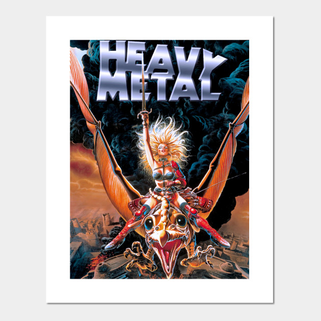 Heavy Metal Movie Cool Posters And Art Prints Teepublic