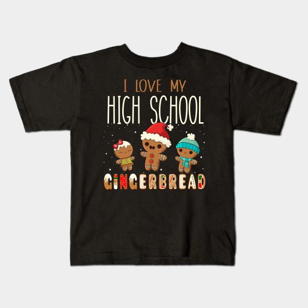 I Love My High School Teacher Gingerbread Cookies Christmas Noel ...