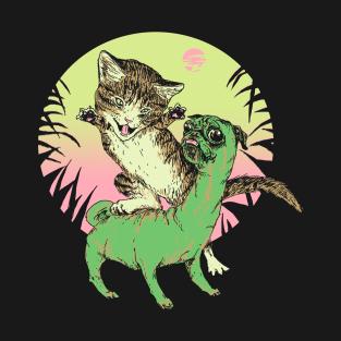 K-Rex & Pugosaurus t-shirts