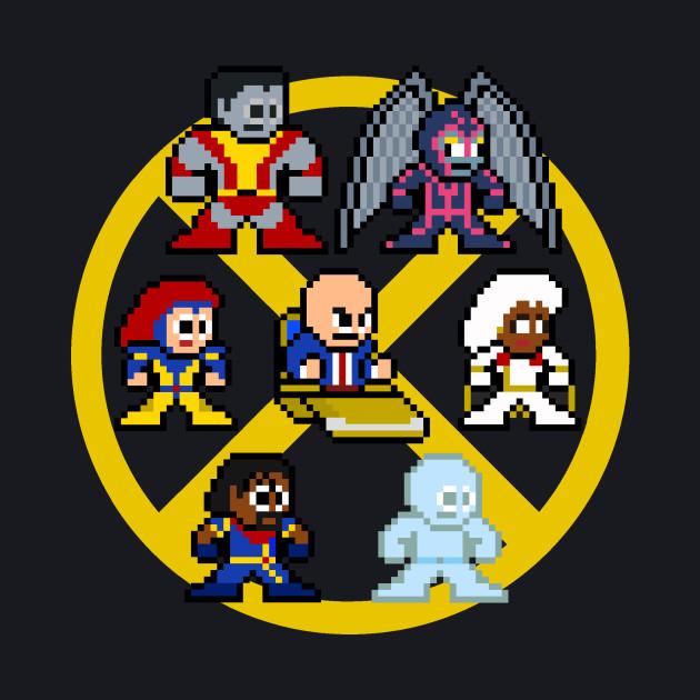 8-Bit X-Men Gold Team