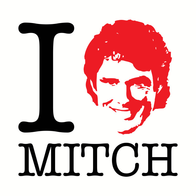 I Heart Mitch Baywatch David Hasselhoff