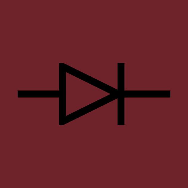 Exclusive iec diode symbol iec diode symbol t shirt teepublic