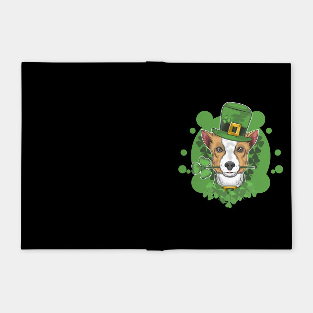 St. patrick's day cute dog illustration