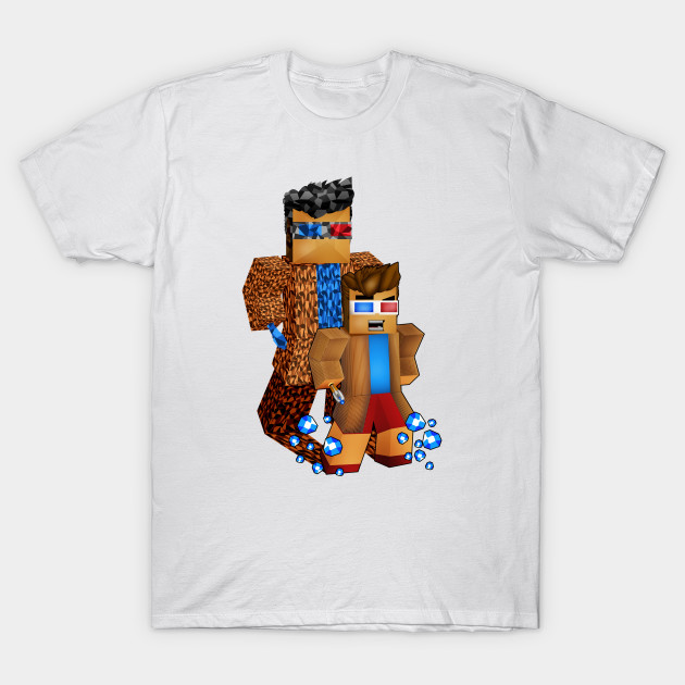 8bit boy with 10th doctor shadow T-Shirt-TOZ