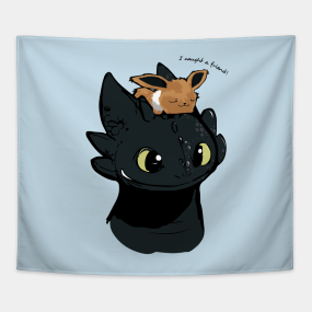 How To Train Your Dragon Tapestries Teepublic