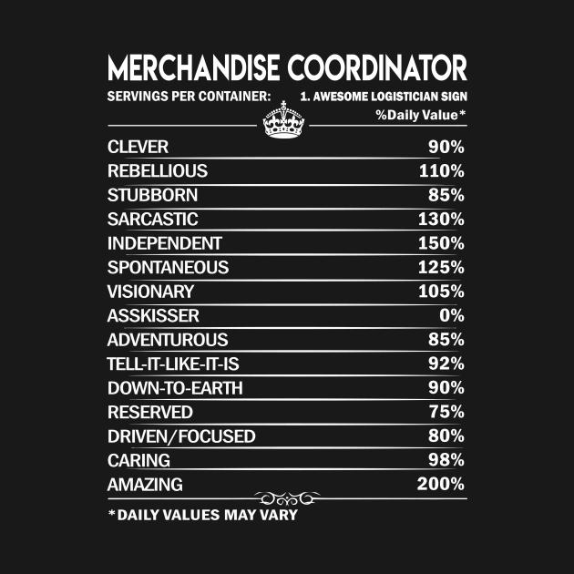 Merchandise Coordinator T Shirt - Merchandise Coordinator Factors Daily Gift Item Tee