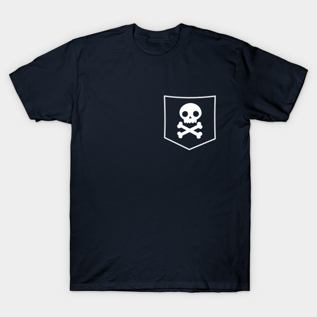 Pocket Pirate Skulls T-Shirt