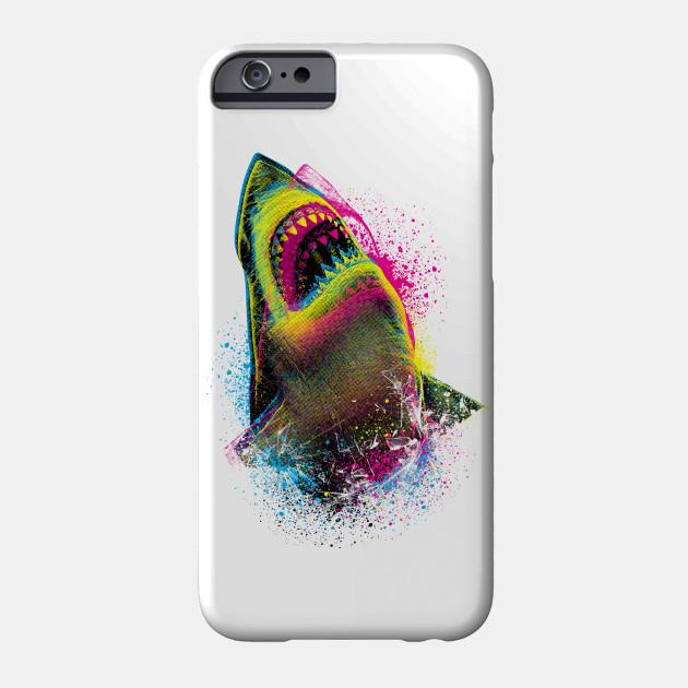 Cmyk Shark