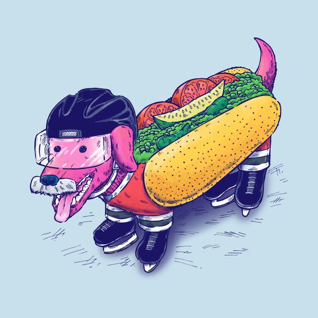 Chicago Hockey Dog