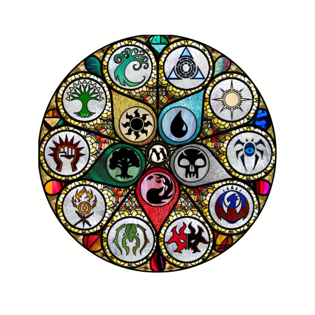 MTG   Stained Glass
