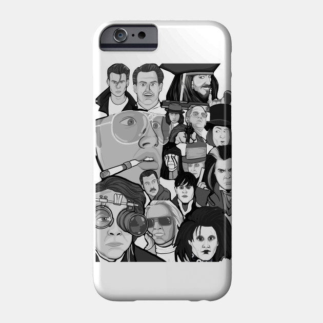 Johnny Depp Character Collage Movies Phone Case Teepublic