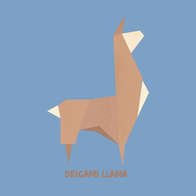 Origami Llama Llama Kids T Shirt Teepublic Uk