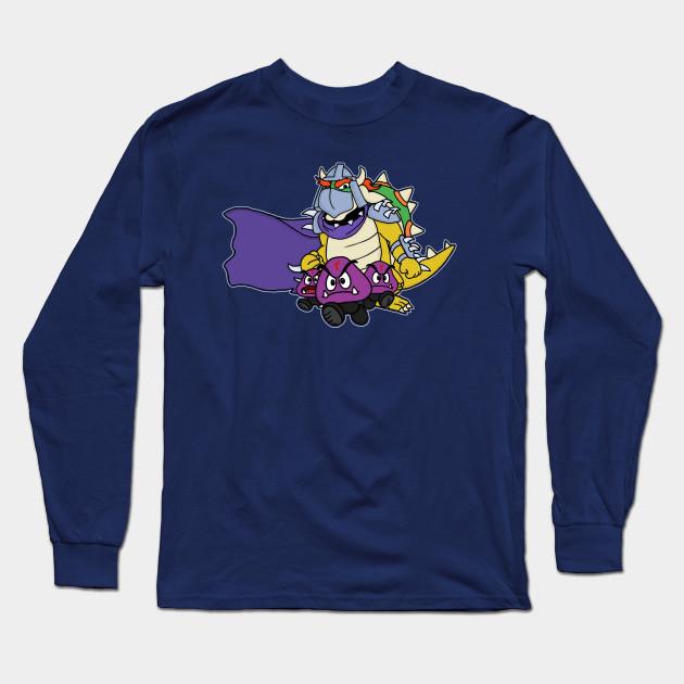a69e4651 Join the Foot - Super Mario - Long Sleeve T-Shirt | TeePublic