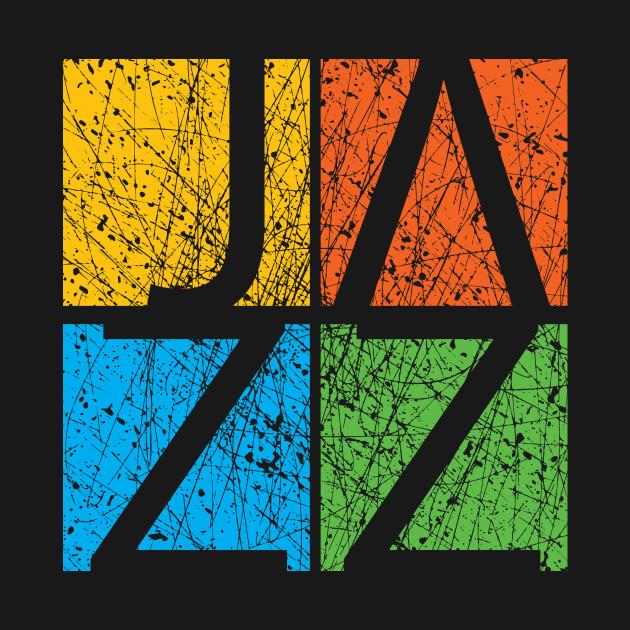 Colorful JAZZ  Creative Typographic Artwork