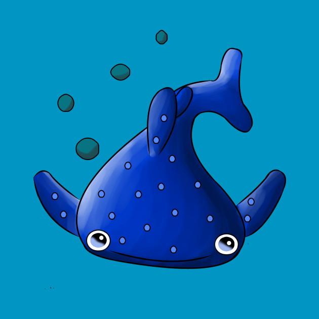 Kawaii Blue Whale