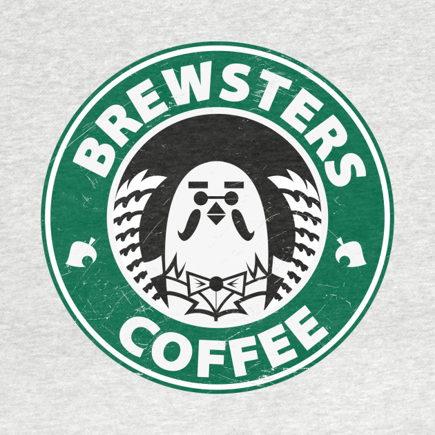 Brewsters Coffee (distressed)