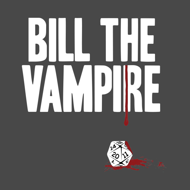 Bill The Vampire - NEO white