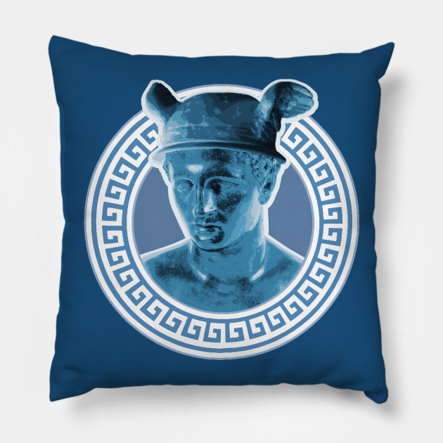 Cuscini Hermes.Hermes Iii Neopagan Cuscino Teepublic It