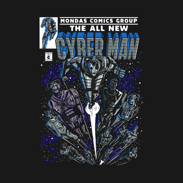 Cyber Man Comic Cover