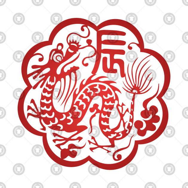 Chinese Zodiac ver.2 Dragon in Red