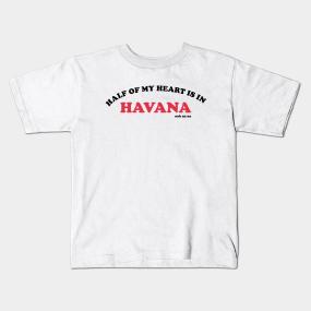 Camila Cabello Havana Kids T-Shirts | TeePublic
