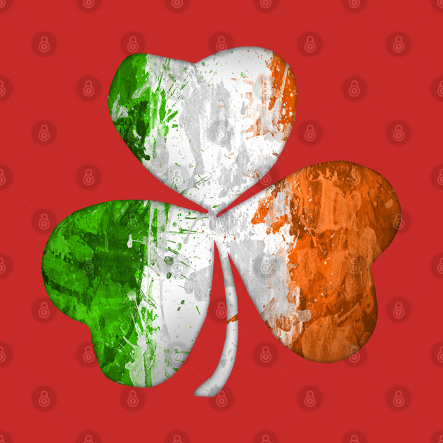 Irish Shamrock Grunge