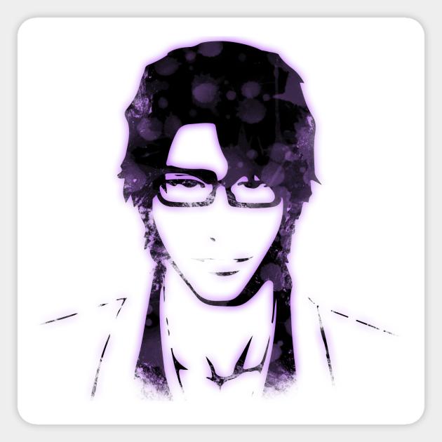 Sosuke Aizen Bleach Sticker Teepublic Au