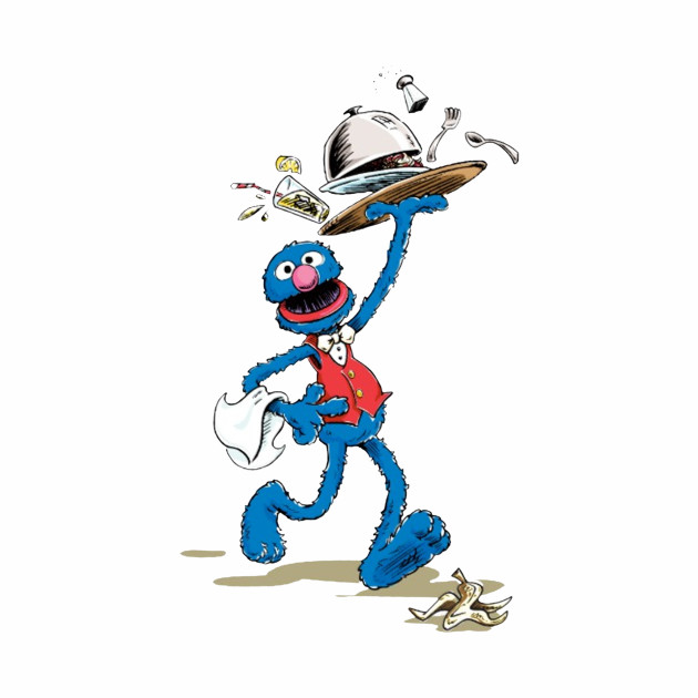 Vintage Grover the Waiter