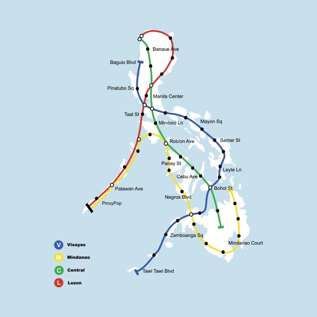 Philippines Transit Map
