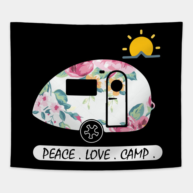 T-shirt, Gifts for Campers Tapestry