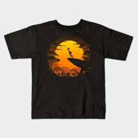049240c47756 The Circle of Life Kids T-Shirt. by Riverart. $18. Main Tag Lion King Kids T -Shirts