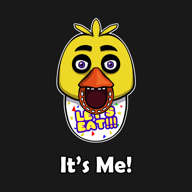 five nights at freddy s chica it s me springtrap t shirt