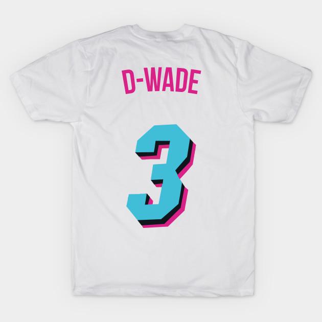pretty nice 463e8 ae3fe Dwyane Wade 'D Wade' Nickname Jersey - Miami Heat