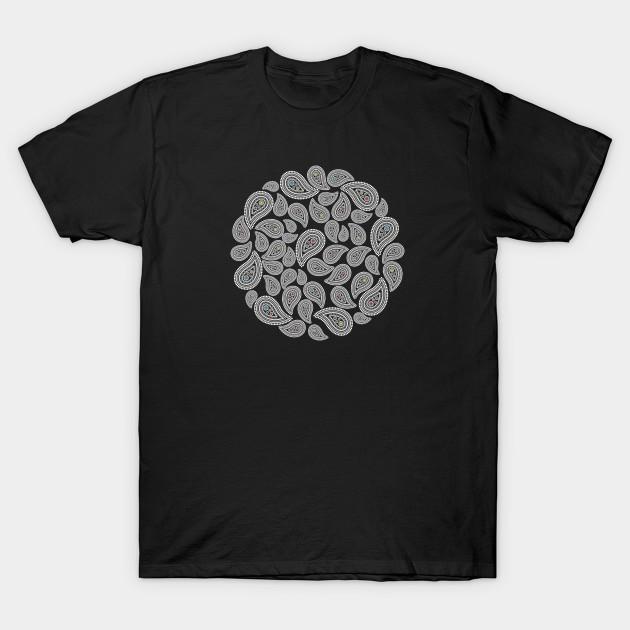 75142baa2 Mod Paisley - Paisley Pattern - T-Shirt | TeePublic
