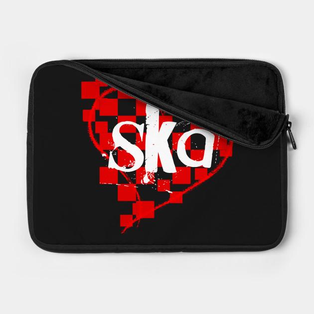 ska checkered heart