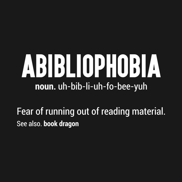 Image result for abibliophobia