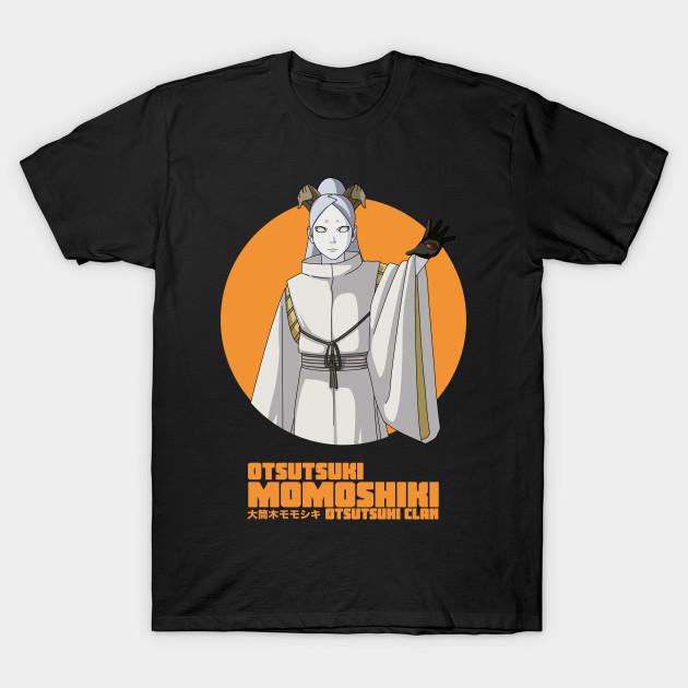 Naruto Shippuden Characters Adult Ringer T-Shirt