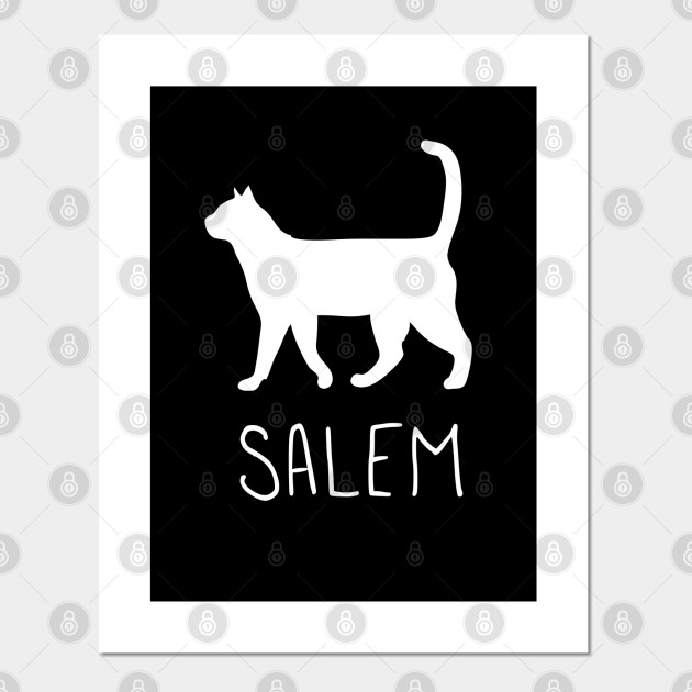Sabrina and Salem Art Print