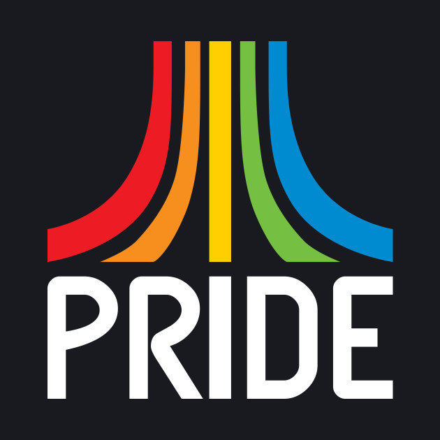 Gaymer Pride Atari Parody