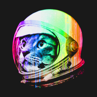 Astronaut Space Cat t-shirts